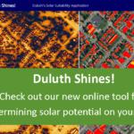 Duluth Shines! Solar Map