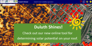 Duluth Shines! Solar Map