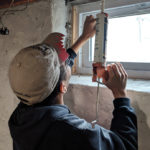 Volunteers from the YMCA Prepare Homes for the Winter Cold