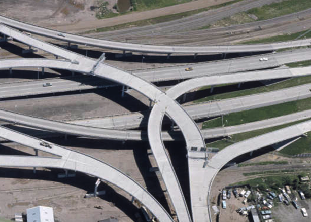 Twin Ports Interchange, also known as Can of Worms, graphic