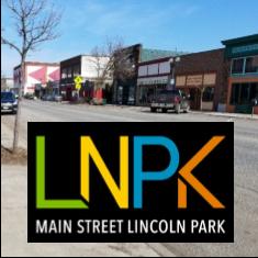 LNPK logo over West Superior Street