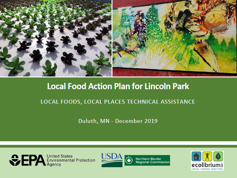 Local Food Action Plan for Lincoln Park report graphic